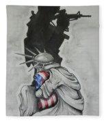 Defending Liberty Fleece Blanket