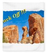 Defiant Rock 2 Fleece Blanket