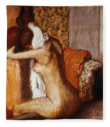 Degas: After The Bath Fleece Blanket