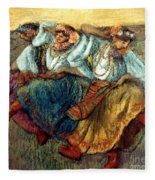 Degas: Dancing Girls, C1895 Fleece Blanket