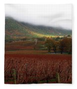 Del Rio Vineyard Fleece Blanket