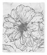 Lush Blossom Fleece Blanket