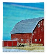 Delaware Barn 2 Fleece Blanket