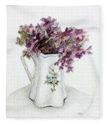 Delicate Bouquet Fleece Blanket