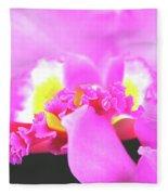 Delicate In Pink Fleece Blanket