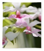 Delicate Orchids By Sharon Cummings Fleece Blanket
