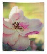 Delicate Petals Fleece Blanket