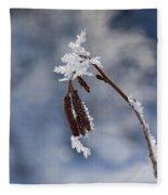 Delicate Winter Fleece Blanket