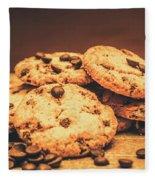 Delicious Sweet Baked Biscuits  Fleece Blanket