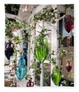 Delightful Hanging Gardens Fleece Blanket