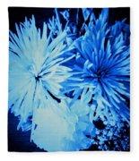 Delightfully Blue Fleece Blanket