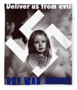Deliver Us From Evil Fleece Blanket