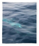 Delphin 1 The Mermaid Fleece Blanket