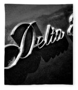 Delta 88 Badge Fleece Blanket