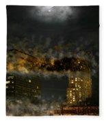 Demolition Fleece Blanket