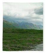Denali National Park Landscape 2 Fleece Blanket