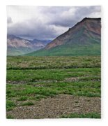 Denali National Park Landscape 3 Fleece Blanket