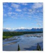 Denali State Park Fleece Blanket