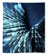 Denim And Light  Abstract 2 Fleece Blanket