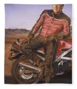 Dennis Hopper Fleece Blanket
