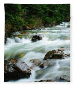 Denny Creek  Fleece Blanket