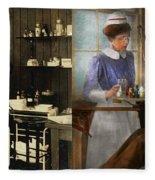 Dentist - An Incisive Decision - 1917 - Side By Side Fleece Blanket