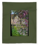 Dentist Flowers Fleece Blanket