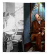 Dentist - Monkey Business 1924 - Side By Side Fleece Blanket
