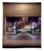 Denver Civic Center Park  Fleece Blanket