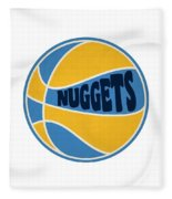 Denver Nuggets Retro Shirt Fleece Blanket