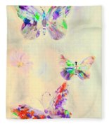 Departure In Purpose And Life As You Are By Lisa Kaiser Fleece Blanket