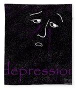 Depression Fleece Blanket