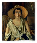 Derain: Guillaume, 20th C Fleece Blanket