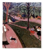 Derain: Hyde Park Fleece Blanket