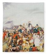 Derby Day Fleece Blanket