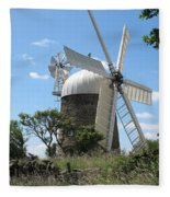 Derbyshire Windmill Fleece Blanket