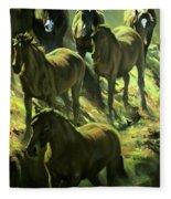 Descent Fleece Blanket