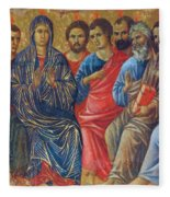 Descent Of The Holy Spirit Upon The Apostles Fragment 1311 Fleece Blanket