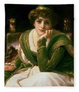 Desdemona Fleece Blanket