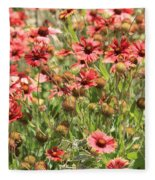 Desert Beauties Fleece Blanket