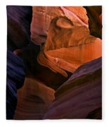 Desert Bridge Fleece Blanket