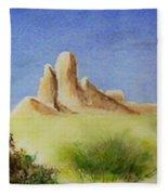 Desert Butte Fleece Blanket