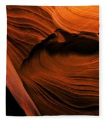 Desert Carvings Fleece Blanket