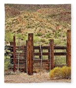 Desert Corral Fleece Blanket