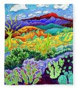 Desert Dance Fleece Blanket