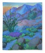 Desert Dawn Fleece Blanket