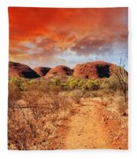 Desert Fleece Blanket