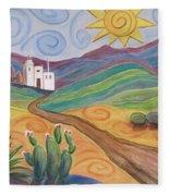 Desert Dreams Fleece Blanket