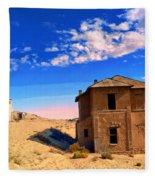 Desert Dreamscape 2 Fleece Blanket