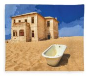Desert Dreamscape 3 Fleece Blanket
